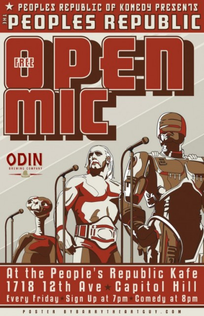 PRK's Open Mic