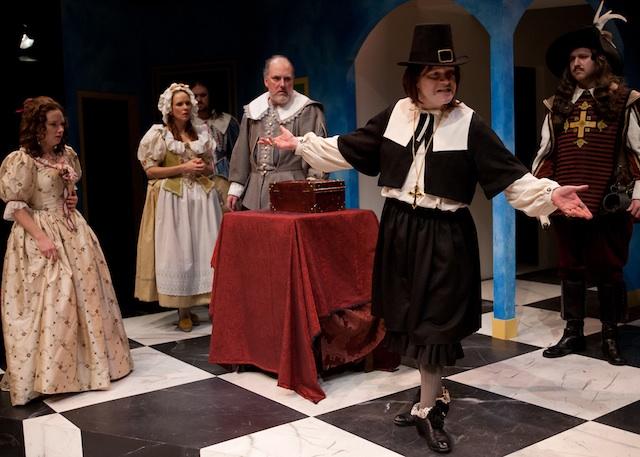Tartuffe comedy vs satire the seattle star for Tartuffe definition