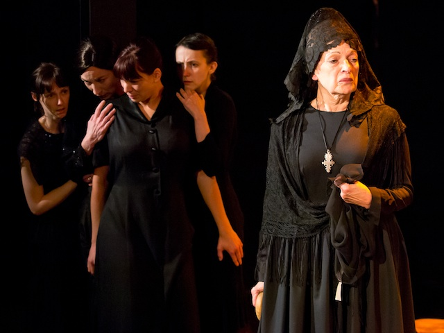 house of bernarda alba | analysis of extract from 'the house of bernarda alba' | act three, pages 95 to 99 | | | english: world literature: 2c word count: 1414 | bernarda: what.