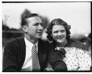 Marion Zioncheck and his wife, Rubye Nix in early 1936