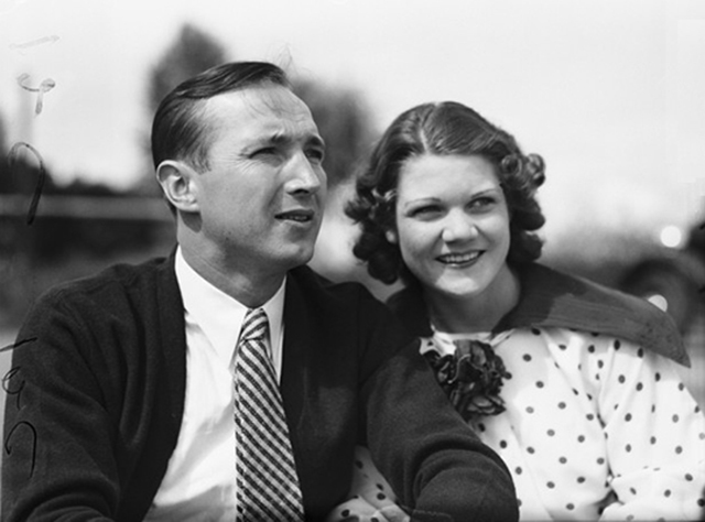 Marion Zioncheck and his wife Rubye Louise Nix in early 1936 Museum of History and Industry