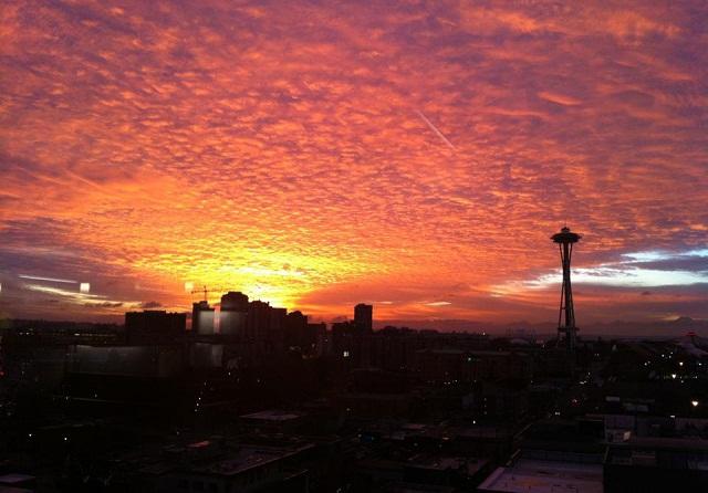 seattle anodyne sunset