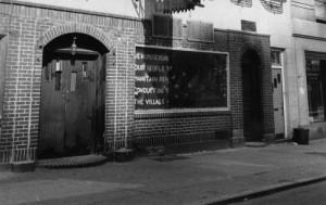 Outside Stonewall, Oct. 1969.