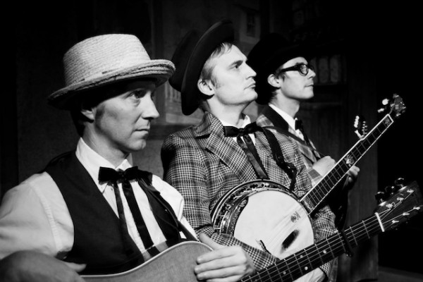 Rick Miller, David Nixon and John Ackermann are The Half Brothers. Photo by Dangerpants Photography.