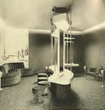 Lewis & Clark ladies' lounge.