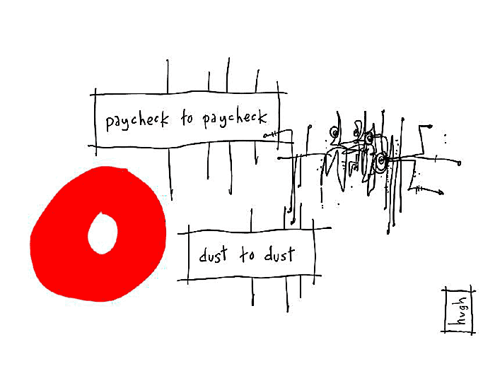 paycheck-to-paycheck