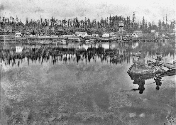 Green Lake, 1896. Photo from Seattle Municipal Archives. Licensed cc-by