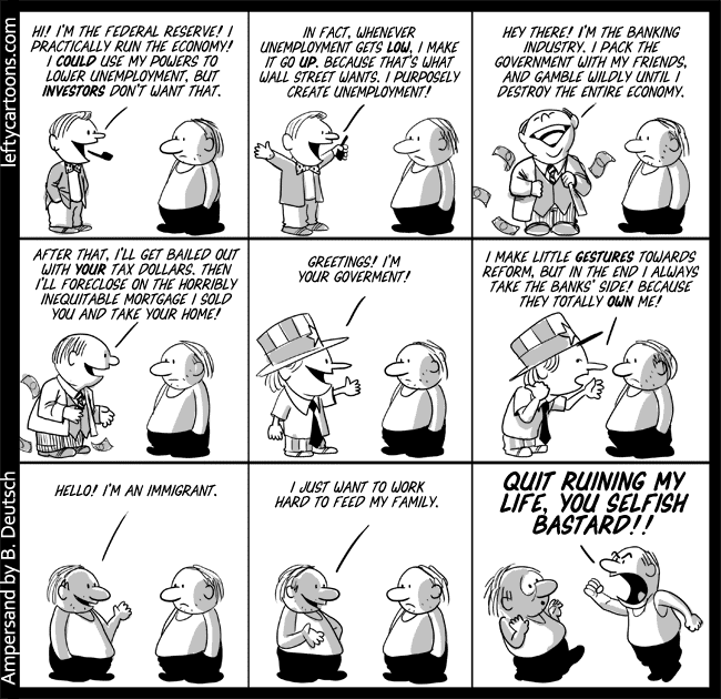 immigration and blame