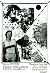 Poster design by xj elliott.