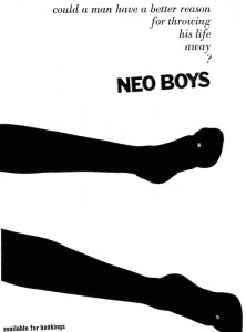 An early promo poster.