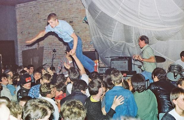 Spluii Numa play at the Metropolis, circa 1983 Mike Leach