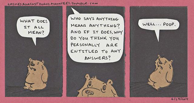 hughsmanatees-meaning