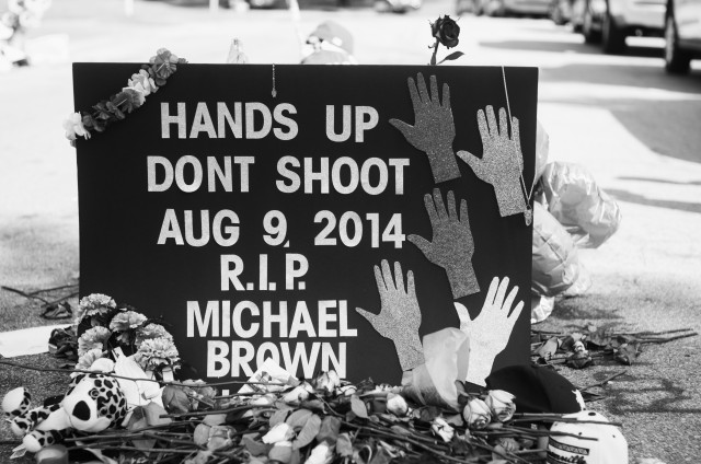 """""""Hands up, Don't Shoot."""""""