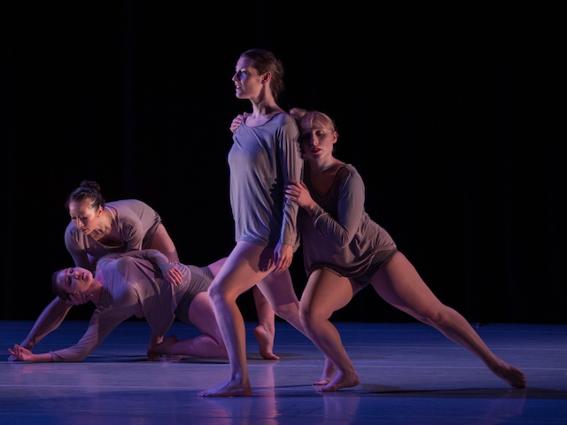 Dancers of The Stone Dance Collective. Photo by Rex Tranter. All rights reserved.